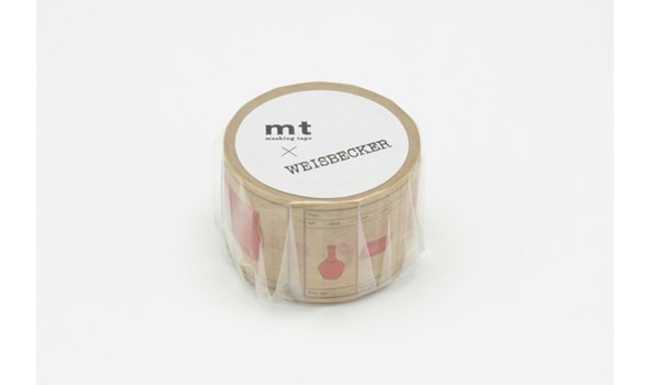 Philippe Weisbecker 'Red' Washi Masking Tape - 1 roll | MT