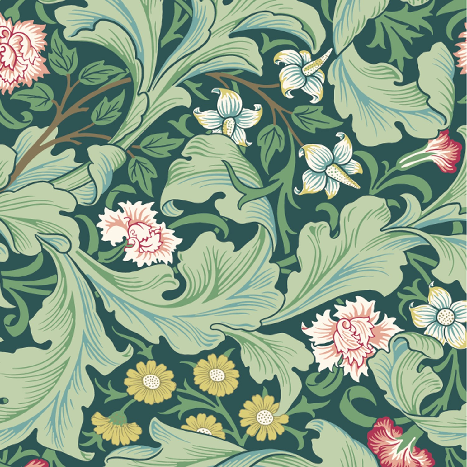 mt x William Morris - MT Masking