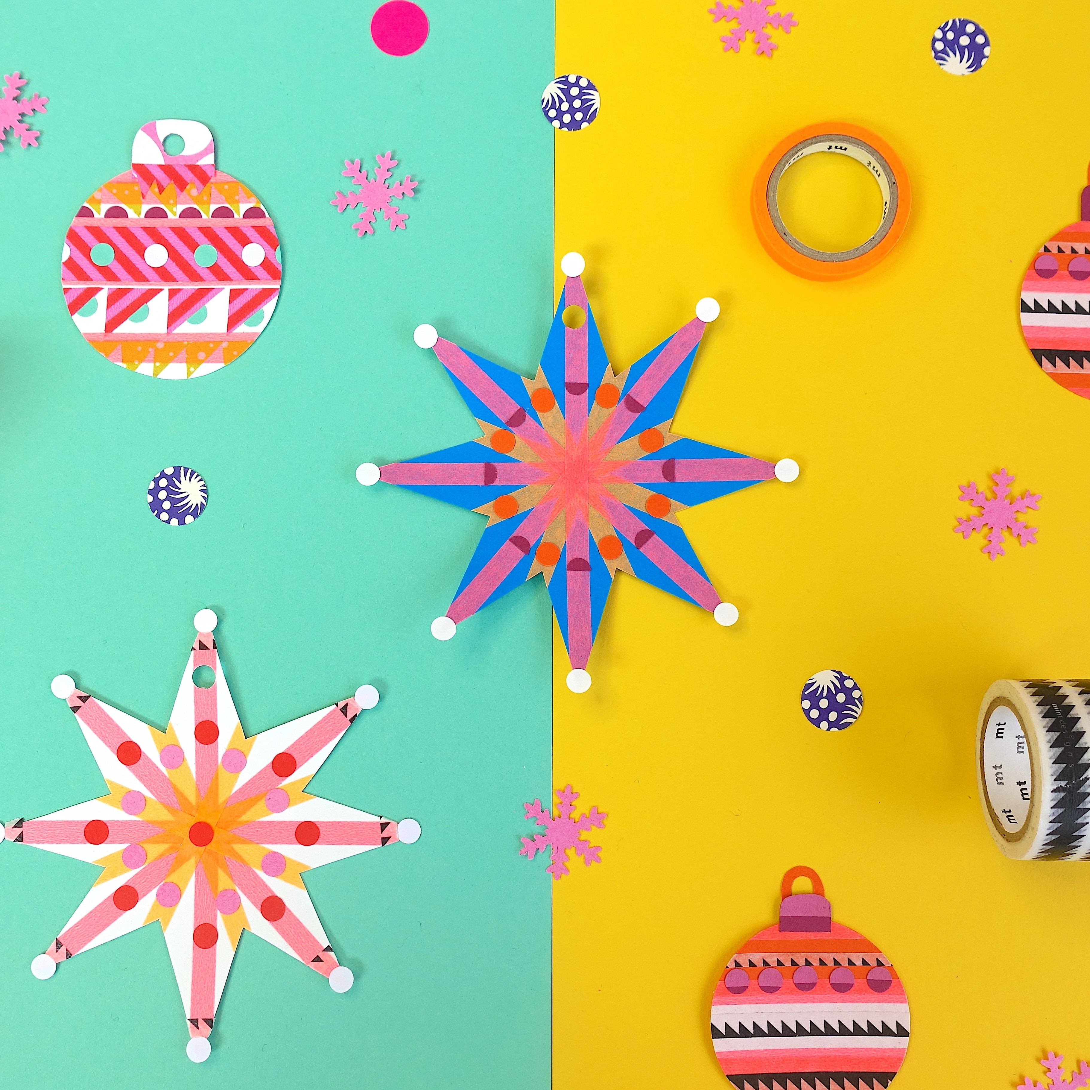 Join mt Masking Tape and Collage Club for an evening of Christmas crafts! - MT Masking