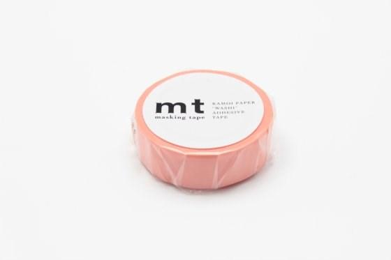 mt Washi Masking Tape Roll Salmon Pink